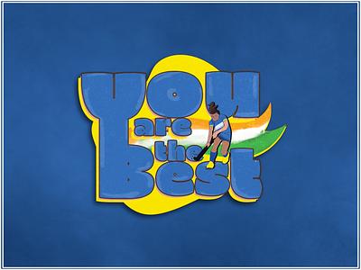 Tokyo Olympics 2021 India (Badge) wacom team india women hockey india indian badge branding design vector udaipur photoshop illustration graphic design