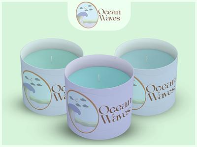 Candle Packaging vector udaipur color trend candle branding design logo illustration photoshop graphic design