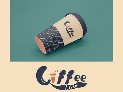 Coffee Company Logo design illustration branding udaipur photoshop graphic design coffee logo logo
