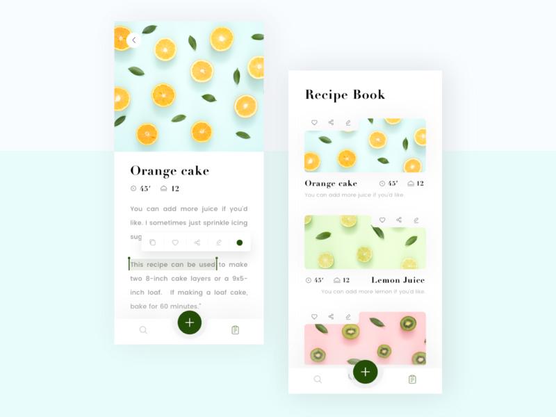 Own Recipe Book