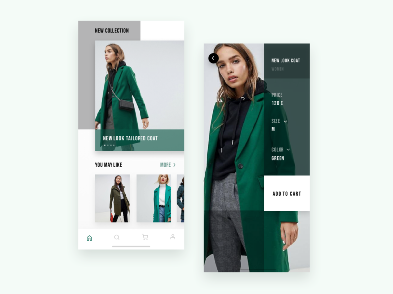 E- commerce Asos app