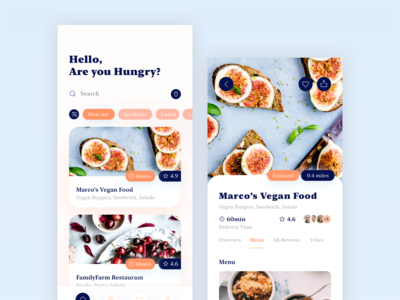 Swify delivery app iOS UI Kit