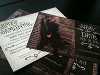Printed Save the Dates