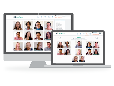 OneRoom video conferencing education product app video