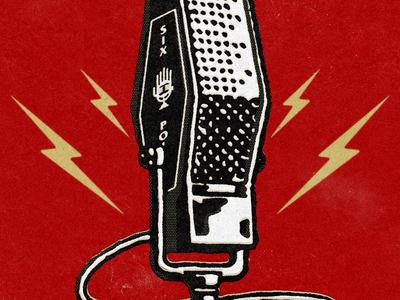Podcast mic graphic