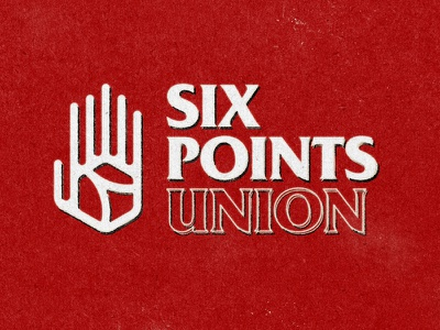 Six Points Unioun branding illustration graphic design