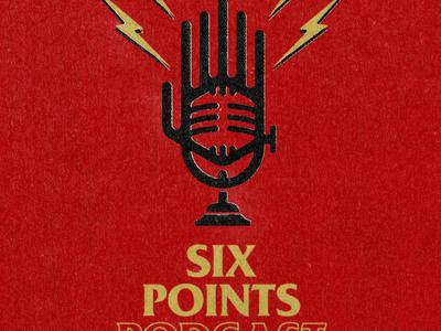 Six Points Podcast logo