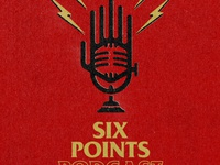 Six Points Podcast logo