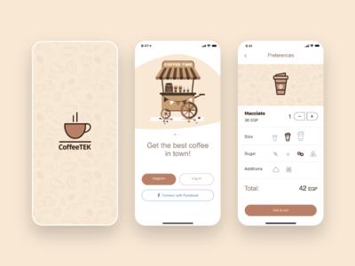 CoffeeTek App