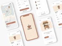 Coffee App - UI Kit