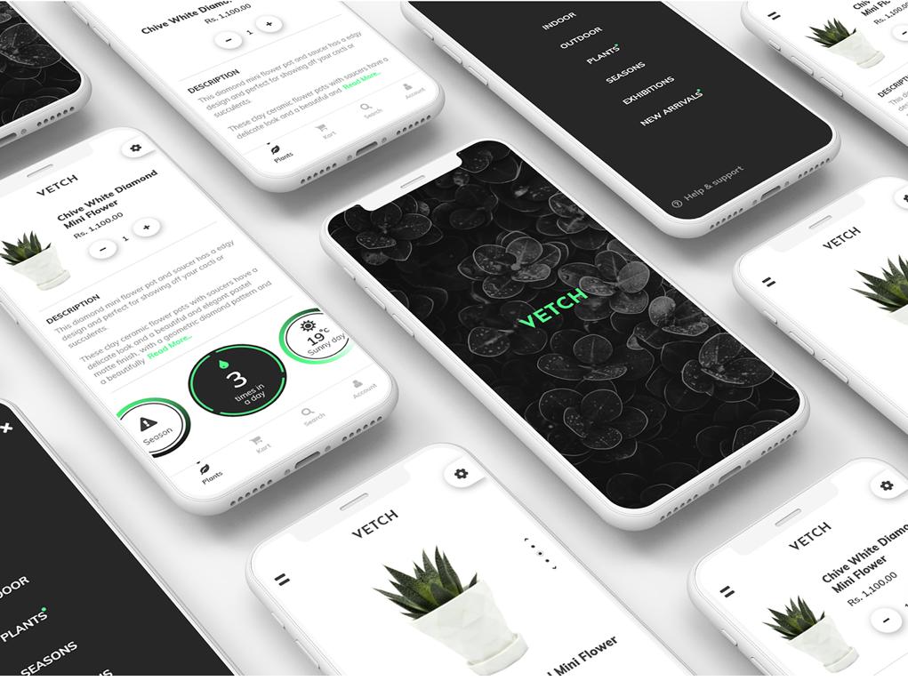 Vetch - Online Plant Selling App UI design by Tanveer ...