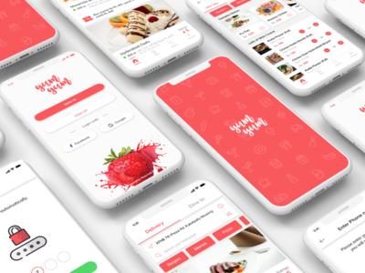 Food Delivery/ Dine-in App UI Design