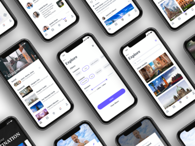 Explore App design