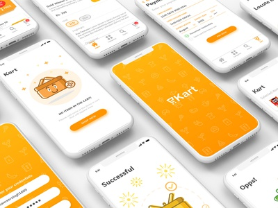 eKart - Online grocery delivery app