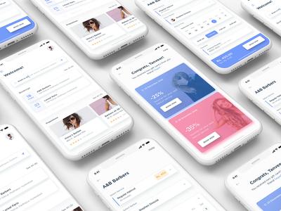 Barber App design Concept