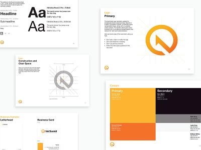 Northwest - Brand Exploration illustrator minimal icon typography ui ux illustration design branding logo