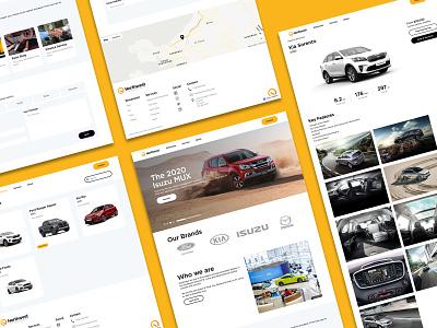 Northwest - Car Dealership Website branding design website webflow web design and development web design web