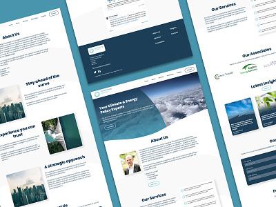 C & E Associates - Website Design & Development design website webflow web design and development web design web