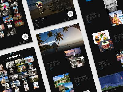 Dani Devaux - Photography Website logo website webflow web design and development web design web branding design