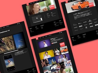 Gimme Video - Videography Website website webflow web design and development web design web branding design