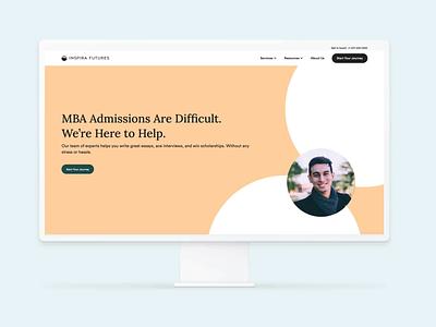 Inspira Futures web ux ui branding website webflow web design and development web design design