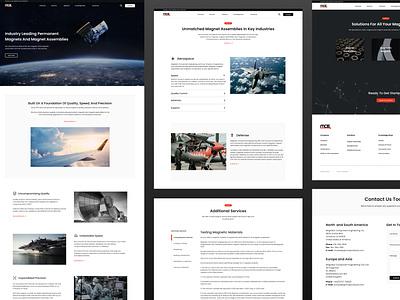 MCE Website Redesign Overview startup minimal ux ui design website webflow web design and development web web design