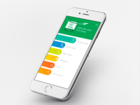 User Interface Designs (UI) for Schneider Electrician App