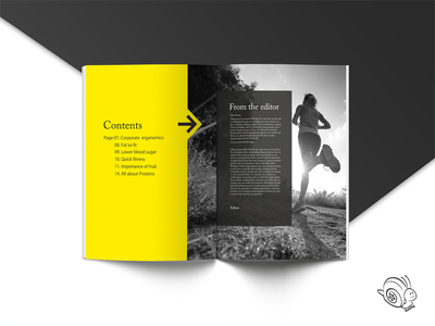 Publication Design by ReelSlug typography graphic designs page layout magazine design illustrations layout design publication design