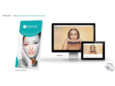Branding and Web Design for Cosmosurg bangalore creative design agency brochure design cosmetic clinic logo design health care communication design web design brand identity brand name