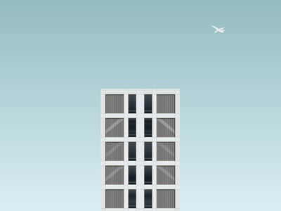 Flat Life building vector illustrator illustration art illustration