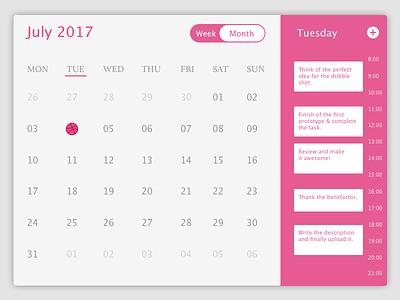 First Dribble Swish calendar hello dribble ui design event management ui ui calendar datepicker schedule calendar event management first shot
