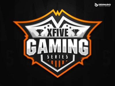 xFive Gaming Series xfive sports sport mascot logotype logo identity gaming esports design branding