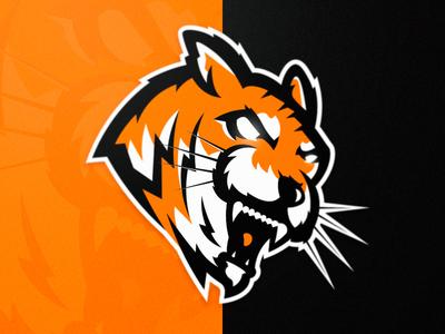 Tigers Mascot Logo