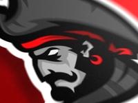 Pirate sports logo