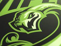 Vipers Mascot logo