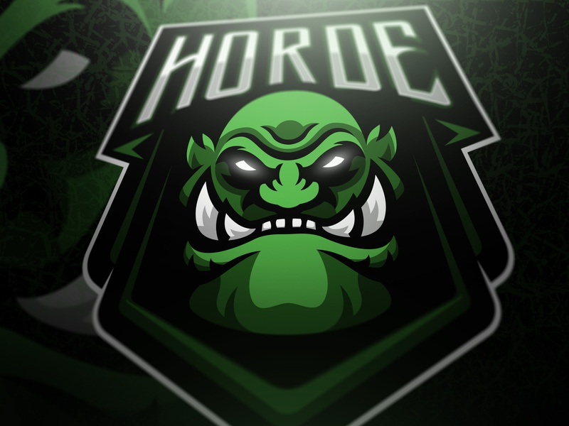 Horde mascot logo gaming logo gaminglogo csgo illustration esportlogo branding sport logo design sports logo mascot logo graphic vector sport esports gaming mascot logotype