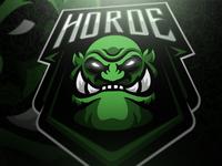 Horde mascot logo