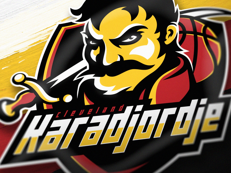 Cleveland Karadjordje gaming logo gaminglogo csgo illustration esportlogo branding sport logo design sports logo mascot logo graphic vector sport esports gaming mascot logotype