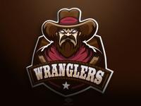 Wranglers Mascot logo (FOR SALE)