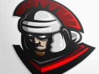 Legion Centurion mascot logo