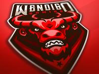Wendigo gaming mascot logo