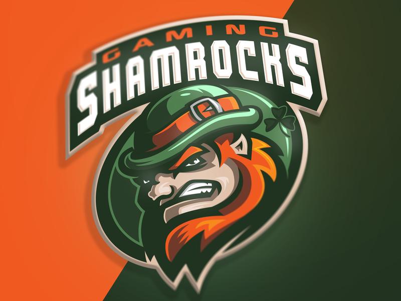Shamrocks mascot logo irish logo shamrock shamrocks leprechaun branding illustration gaminglogo esportlogo sport logo design sports logo mascot logo graphic sport vector esports gaming mascot logotype