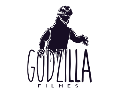 Godzilla Filmes - Logo (Oldschool Version) godzilla filmes logo guigo vector
