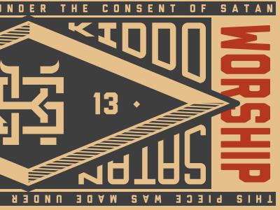 Satan Kiddo Holder satan kiddo guigo pinheiro illustration graphics logo visual