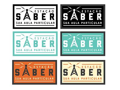 "Radio Station ""Saber"" saber radio logo illustration guigo pinheiro vector illustrator"