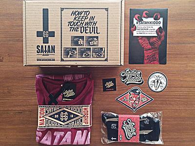 Satan Kiddo Stuff Pt. 2 satan kiddo guigo pinheiro illustration graphics logo visual