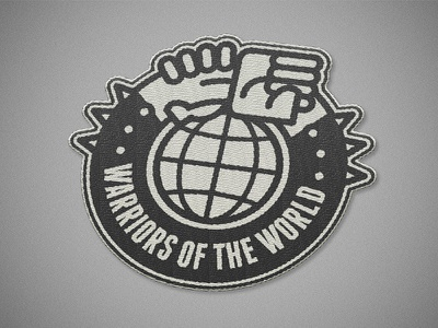 Warriors of the world united - Manowar patch badge icon logo motorcycle vest jacket patch metal heavy metal manowarriors warriors manowar