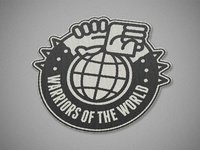 Warriors of the world united - Manowar patch