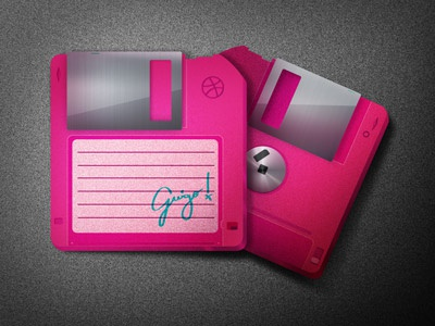 Just practicing too.. floppy texture icon guigo pinheiro oldschool hipster