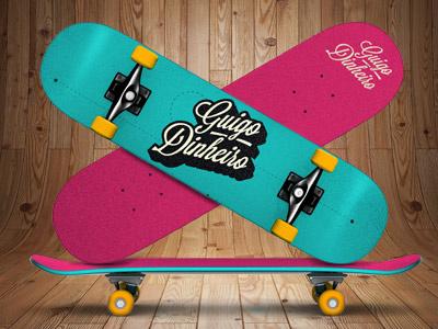 Skate or die skate guigo pinheiro dinheiro texture mock up illustration lettering hardcore hard core straight edge